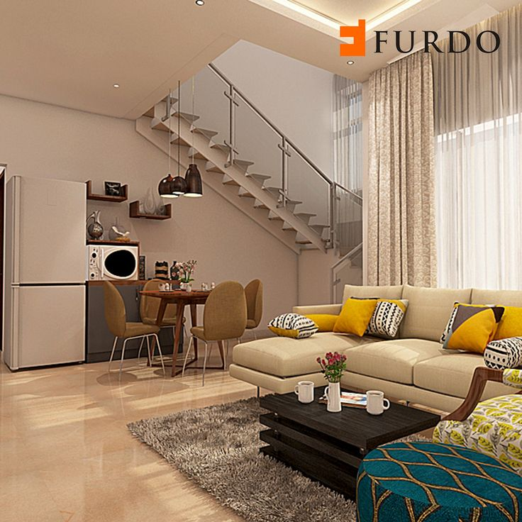 Colorful Living Room By Furdo