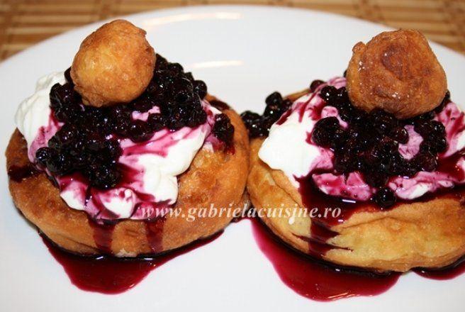 Retete Culinare - Papanasi prajiti
