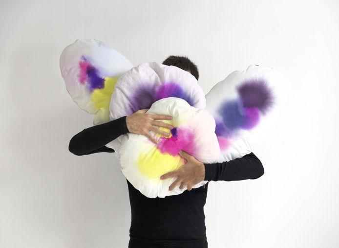 love these watercolor nijimi cushions