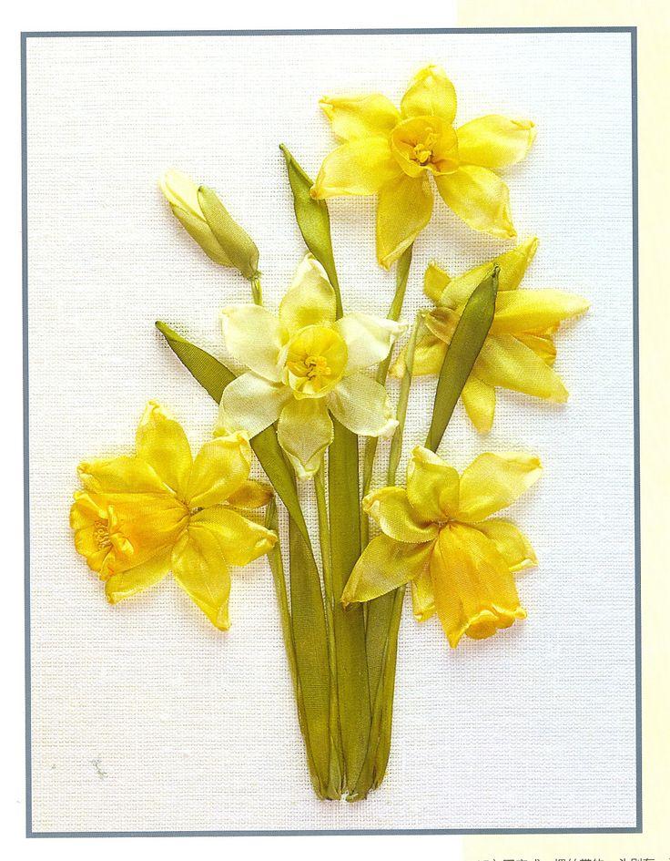 A-Z of Silk Ribbon Flowers craft book. $24.00, via Etsy.
