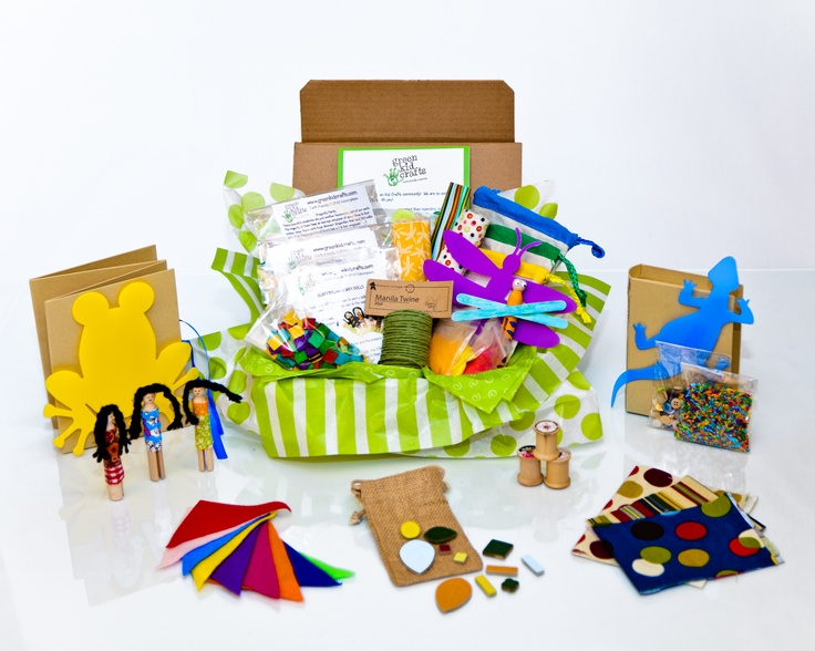 12 Days of Craftiness presents a dozen of Green Kid Crafts' most popular craft kits, or hours and hours of fun and creativity. Use it as one great gift, or divvy up the separately wrapped kits to use as 12 stocking stuffers.  $81