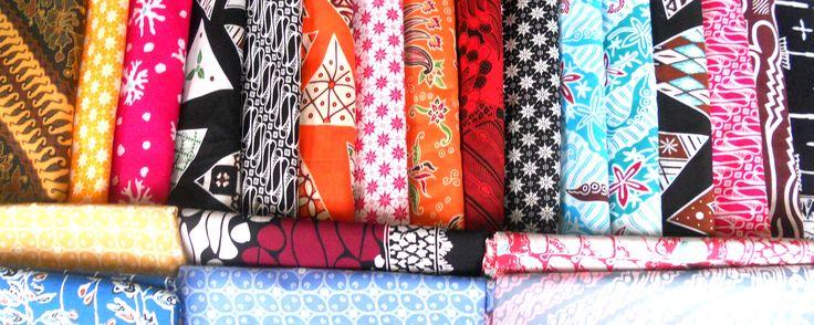 Warna warni batik Tasikmalaya