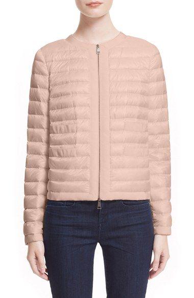 Moncler 'Alose' Short Puffer Jacket