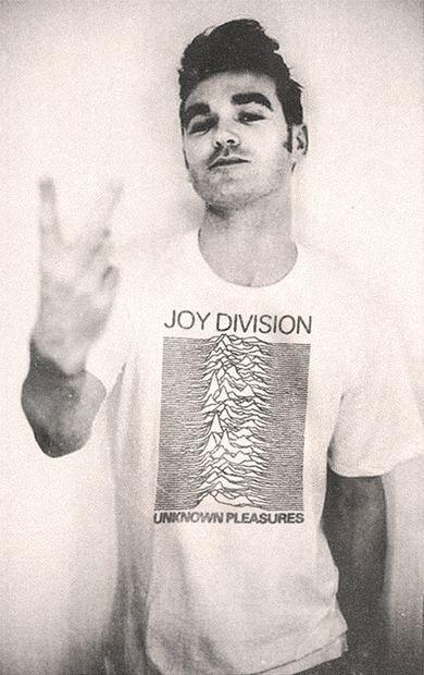 Morrissey salutes Joy Division? #ego