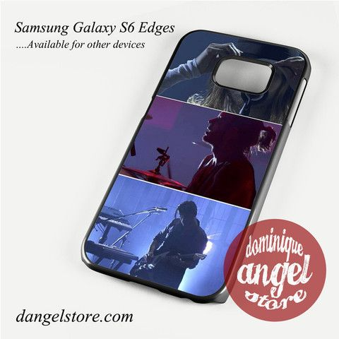 30 Seconds To Mars On Stage Phone Case for Samsung Galaxy S3/S4/S5/S6/S6 Edge