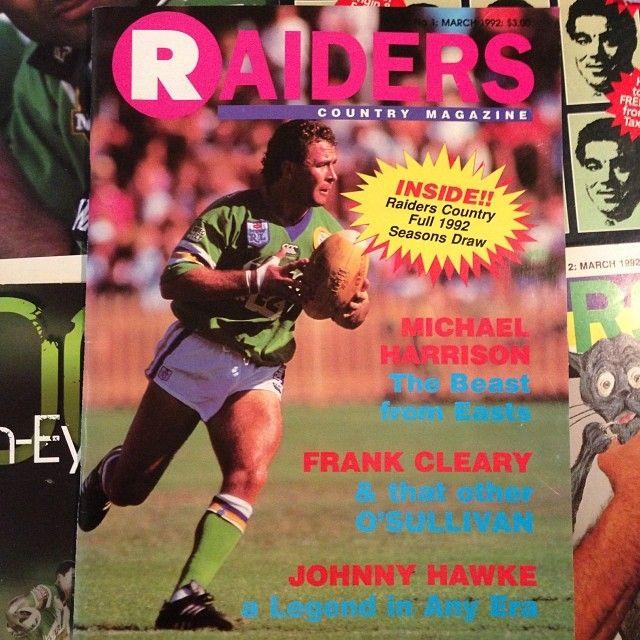 Canberra Raiders halfback Ricky Stuart, 1992.