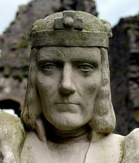 King Richard III at Middleham Castle, Yorkshire, Richard's childhood home