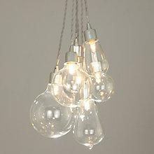 Buy John Lewis Croft Collection Kinsley Glass Dangle Cluster Ceiling Light…