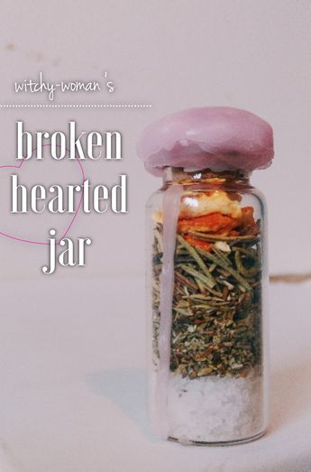 Hi, cuties! Today's jar is something that is all about moving on, letting go, and healing! I know we have all suffered a broken heart before, so I made a little something special to help! First, I...
