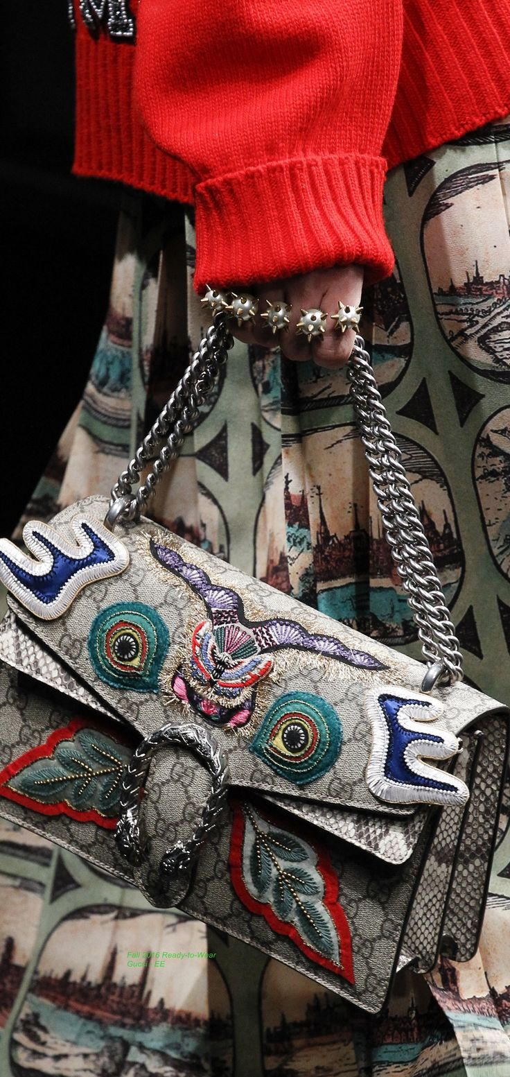 Fall 2016 Ready-to-Wear Gucci Clothing, Shoes & Jewelry : Women : handbags and purses for women http://amzn.to/2j9CmhZ