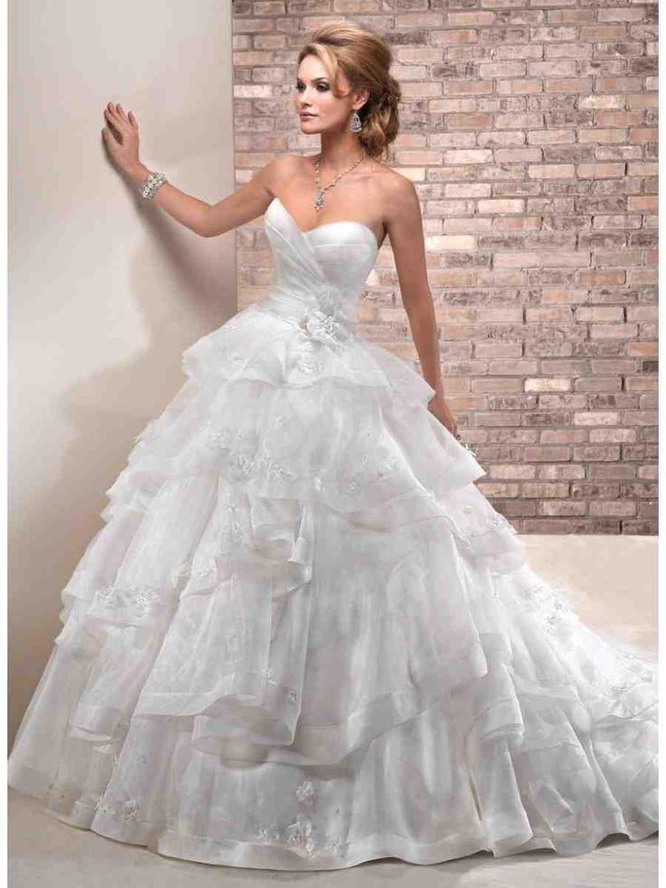 59 best princess wedding dresses images on Pinterest Wedding