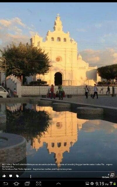 Metapan Church, El Salvador.