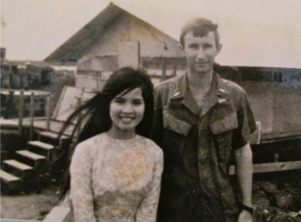 When John Dickinson arrived at the airport in Saigon, Vietnam in 1969 aboard a commercial jet from the United States he was a recent graduate of the U.S. Naval Academy who had just finished helicopter flight school in Pensacola.