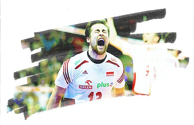 """sport-land: """" • 30 days volleyball challenge • Day 17 - A player that inspires you: Michal Kubiak (POL) """""""