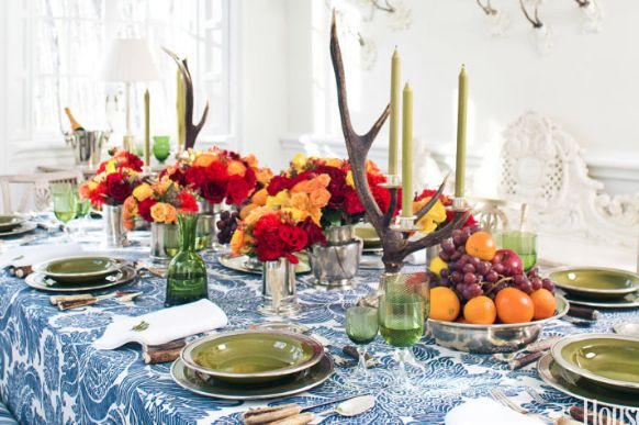 Thanksgiving table designs