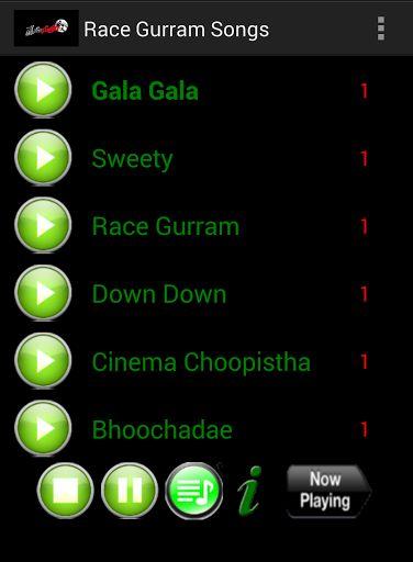 Race Gurram (English: Race horse) is a 2014 Telugu family drama film directed by Surender Reddy starring Allu Arjun, Shruti Haasan, Saloni Aswani and Shaam. Nallamalapu Srinivas and Dr. Venkateswara Rao produced the film under Lakshmi Narasimha production and S. Thaman provided the music.  http://Mobogenie.com
