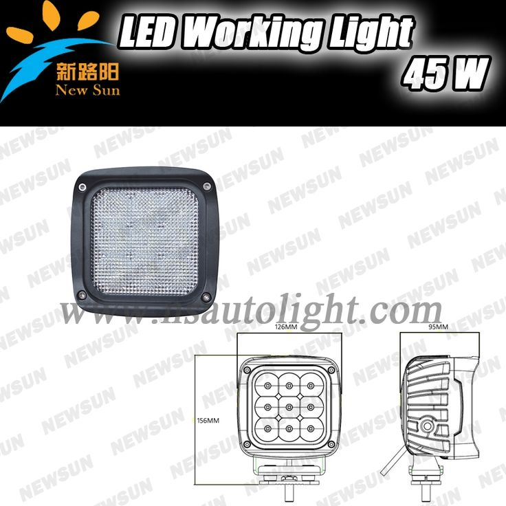 54.90$  Buy now - http://ali027.shopchina.info/go.php?t=32295769711 - 1PCS 45W LED Work Light Offroad 4WD ATV Car 4x4 Truck Tractor Bike Flood Lighting CAR Fog Back Up Lamp 45W Working Lamp IP68 54.90$ #buyonlinewebsite