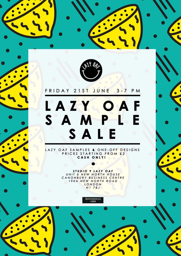 LAZY OAF PRESENTS: SUMMER SAMPLE SALE