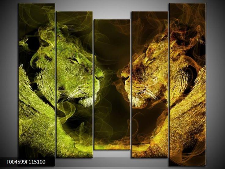 25 beste idee n over leeuw schilderij op pinterest leeuw kunst dieren tekeningen en lion - Kleur schilderij ingang ...