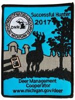 The Michigan Deer Management Cooperator Patch has been a collector's item for hunters since the early 1970s. This year, the Department of Natural Resources is asking the public to design the deer patch for the first time ever!