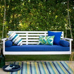 Swing Bed Porch Swings on Hayneedle - Swing Bed Porch Swings For Sale