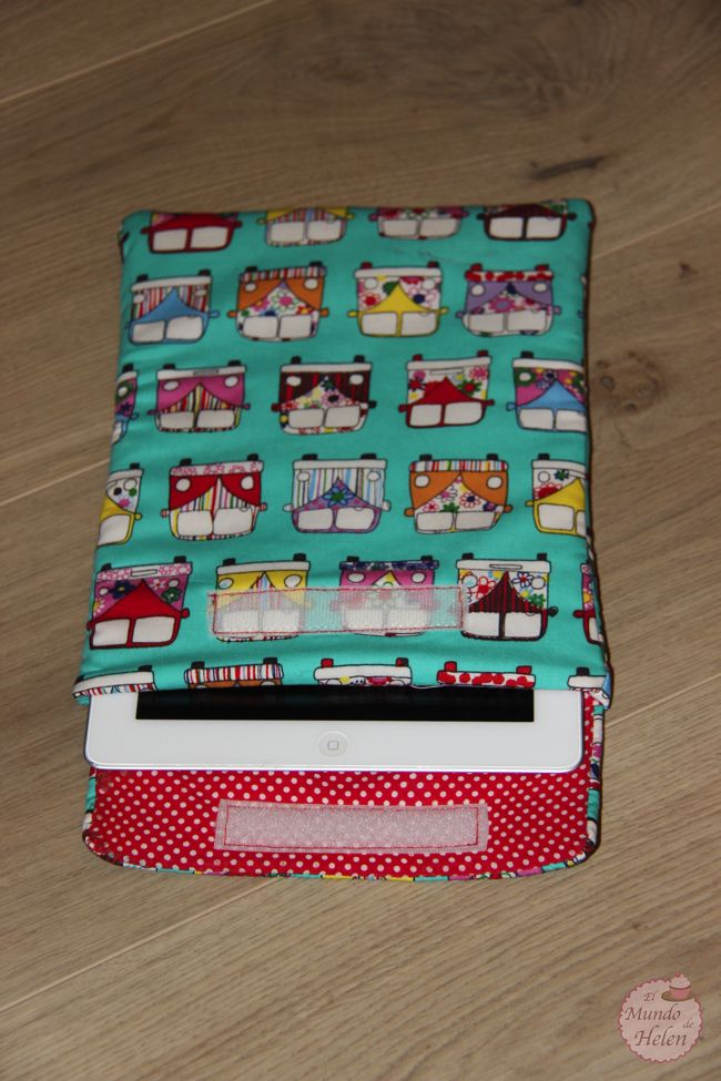 Tutorial funda iPad VW California - El mundo de Helen