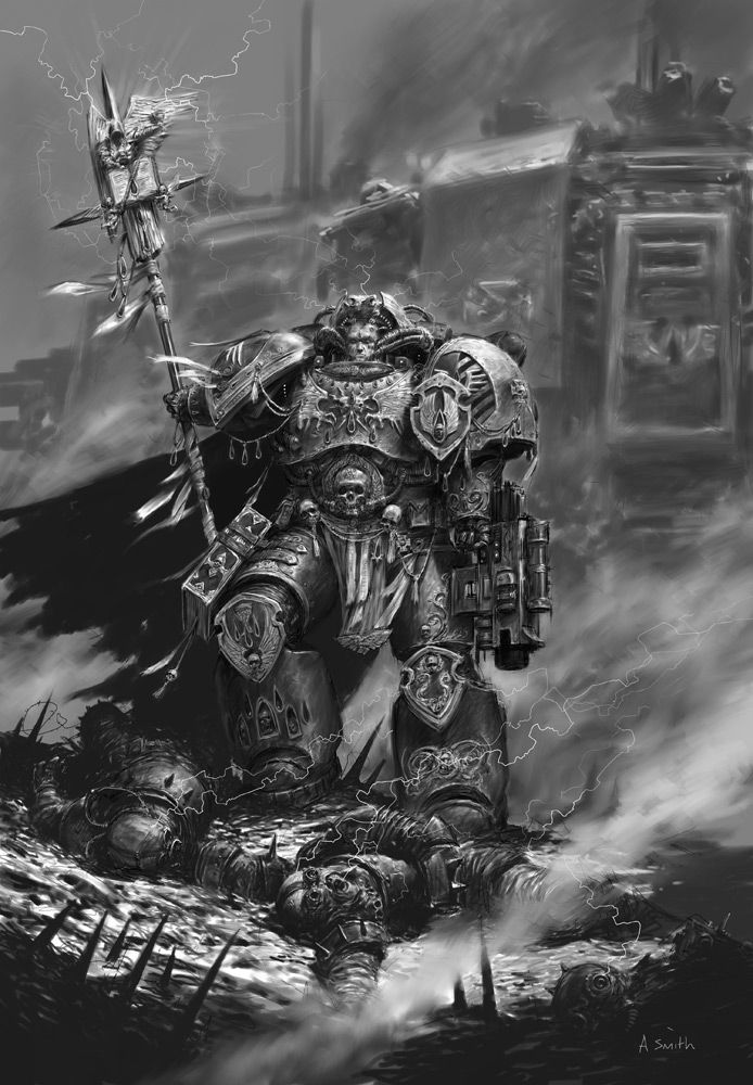 orc space marine how to draw