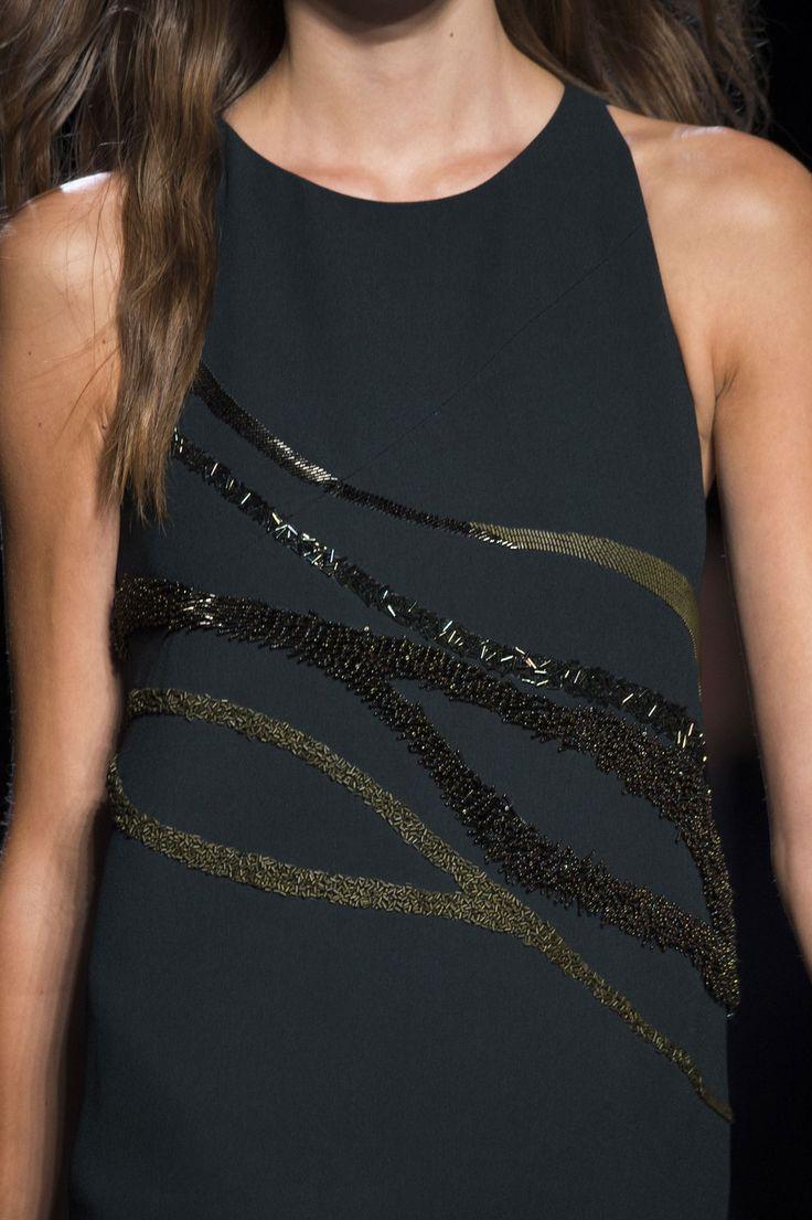 Narciso Rodriguez at New York Fashion Week Spring 2015.