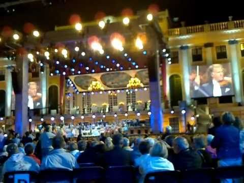 """André Rieu met """"een romantische nacht in Wenen"""" 11 juni 2011 Arena Amsterdam"""