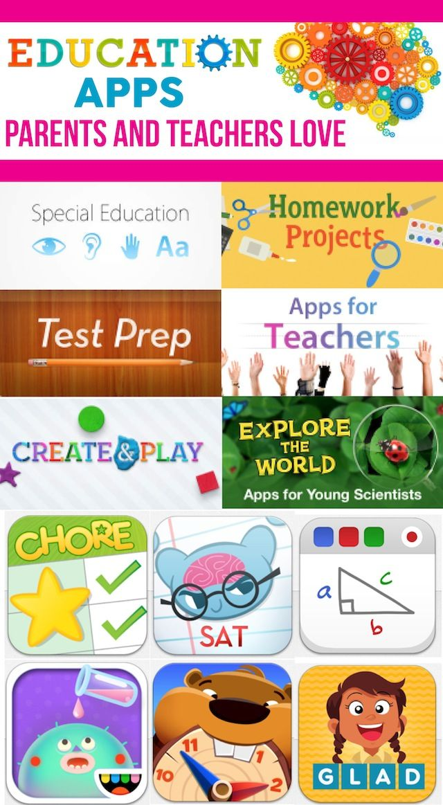 Educational Apps that parents and teachers love!Educational Apps that parents and teachers love!