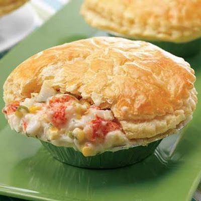 lobster pot pie-- Valentine's?