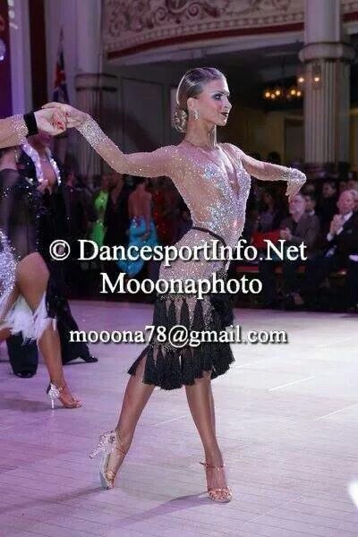 Elegant Latin dress