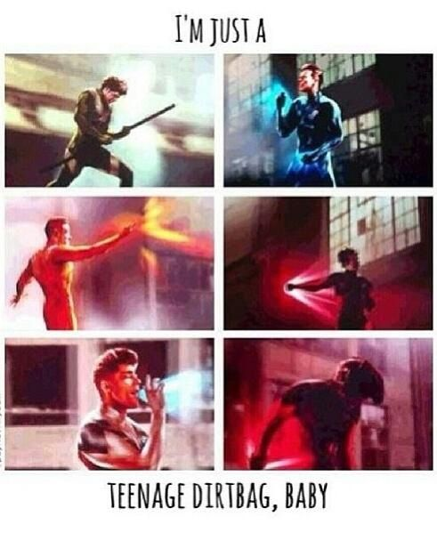 Some of my superheros(: <------- this part LITERALLY KILLED ME!!! Like I stopped breathing. I'm serious