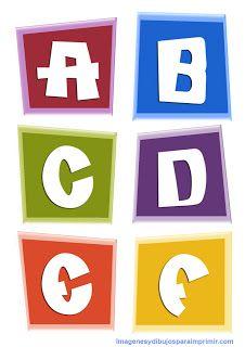 pocoyo letras para imprimir