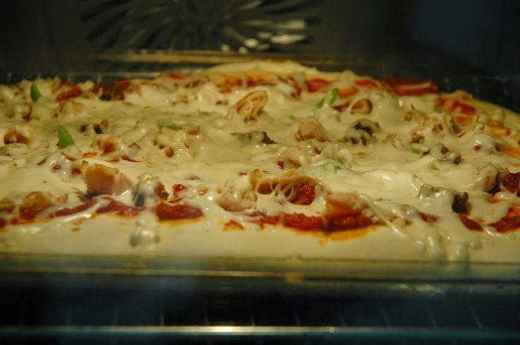 ÉDES ÖTVEN: 5 perces pizza, kelesztés nélkül