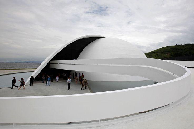 The Oscar Niemeyer foundation building | Yellowtrace