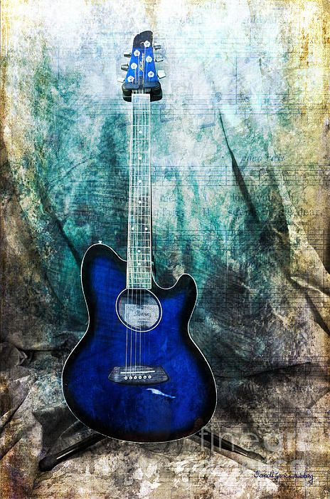 """Play Me Some #Blues"" - by Randi Grace Nilsberg"
