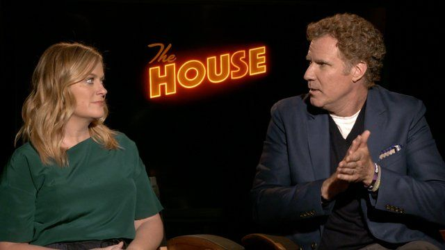 CS Video: Will Ferrell Amy Poehler and The House Cast   Watch our exclusive interview with Will Ferrell Amy Poehler and the rest of The House cast  This FridayWarner Bros. Pictures andNew Line Cinemaare opening the front doors of The House an R-rated comedy starring Will Ferrell and Amy Poehler. The House also marks the directorial debut of Neighbors and Mike and Dave Need Wedding Dates scribe Andrew Jay Cohen. Cohen Ferrell and Poehler recently joined co-stars Nick Kroll and Jason…