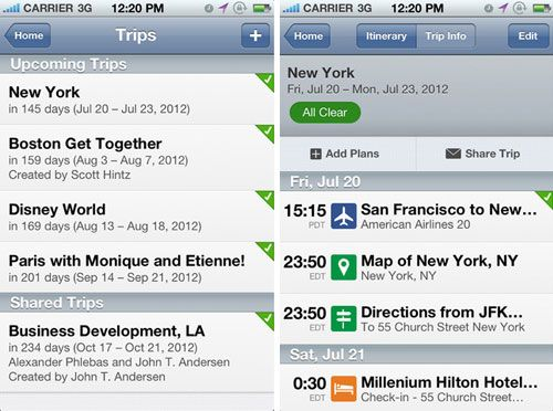 best flight tracking app for iphone 2014