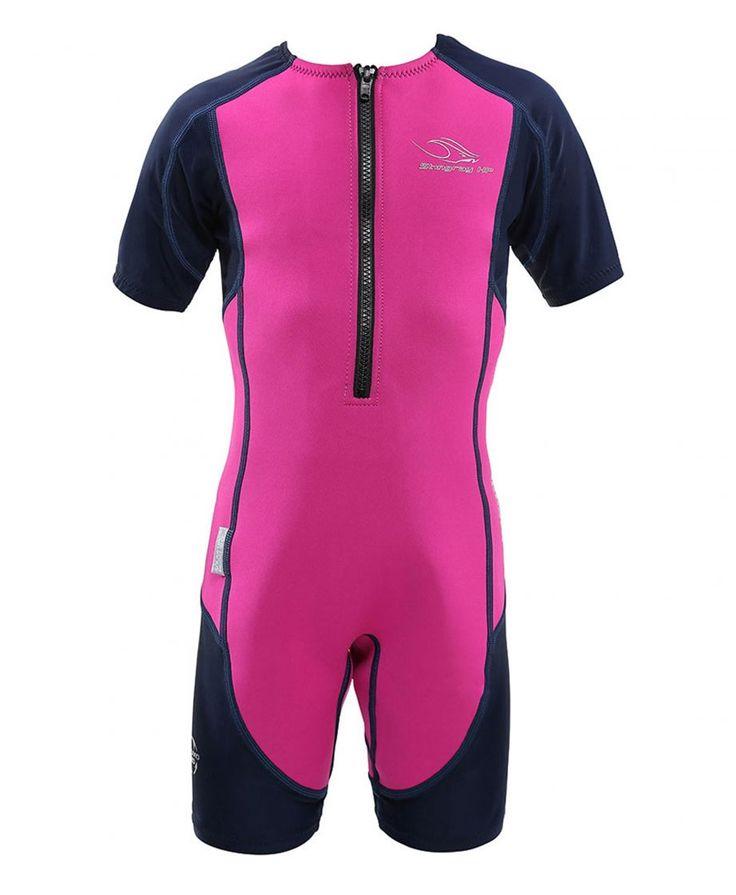 Aqua Sphere Pink Kid's Stingray Core Warmer wetsuit - $39.99   All Tides