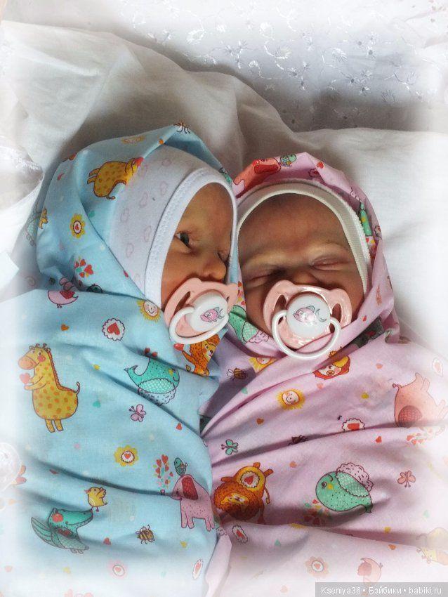 Итак, добрый вечер все, кто не равнодушен к куклам! Сегодня я хочу показать вам двух новорожденных малышей-реборн, появившихся сегодня в / 17 000р