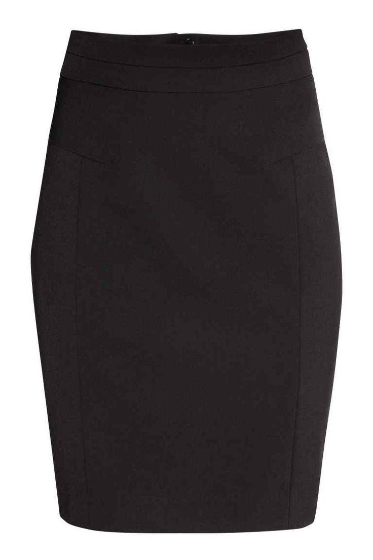 Spódnica ołówkowa - Czarny - ONA | H&M PL