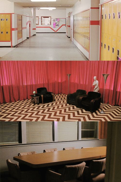 these empty rooms from Twin Peaks send chills down my spine