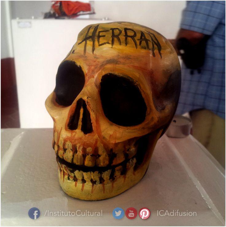 """Exposición """"Los muertos tienen algo que decir"""" en la Casa de la Cultura """"Víctor Sandoval""""."""