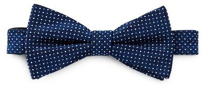 Nordstrom Rack Wright Micro Dot Pre-Tied Silk Bow Tie