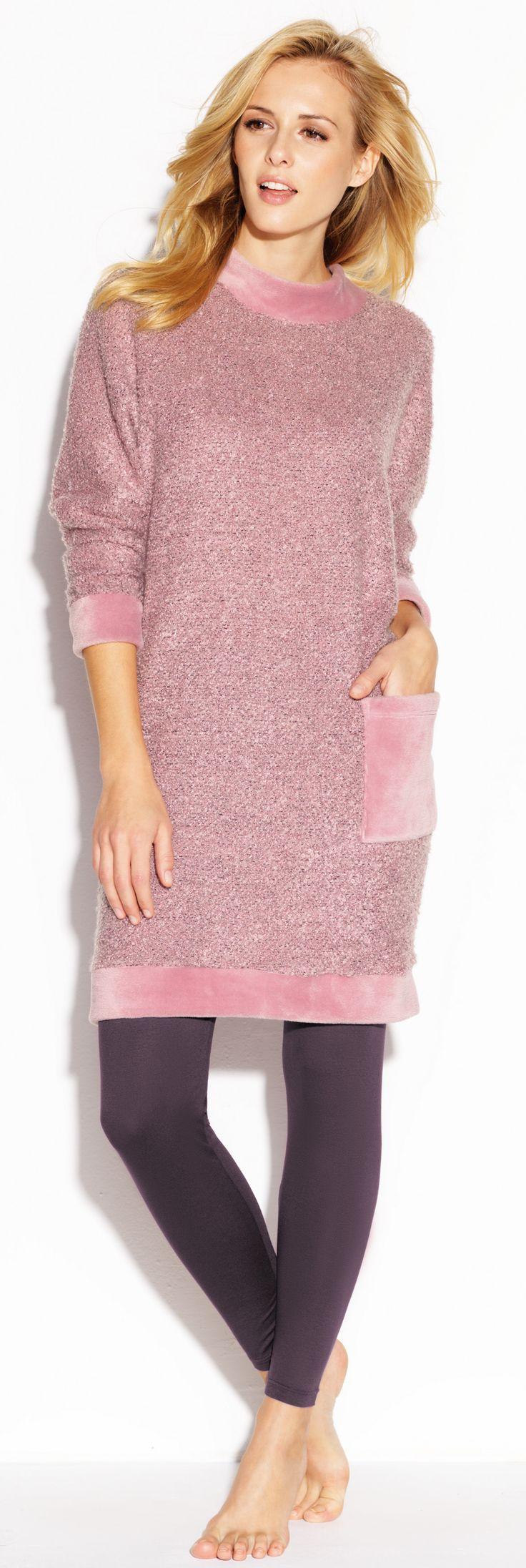 CYBÈLE Podzim-Zima 2015/2016 | Volnočasové prádlo | Šaty | Legíny | Loungewear | Dress | Leggings | www.naturana-plavky-pradlo.cz