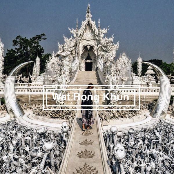 Wat Rong Khun ´White Temple´, Chiang Rai