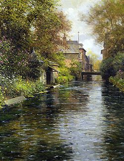 Louis Aston Knight  (1873 - 1948)  Beaumont-le-Roger