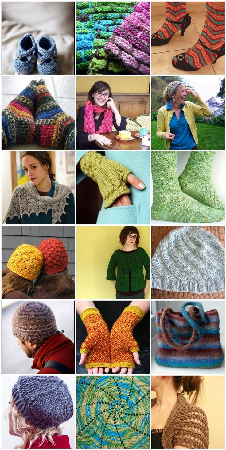 Knitted Flowers Pattern : guide to the best free knitting patterns on the web. Knitting hats children...