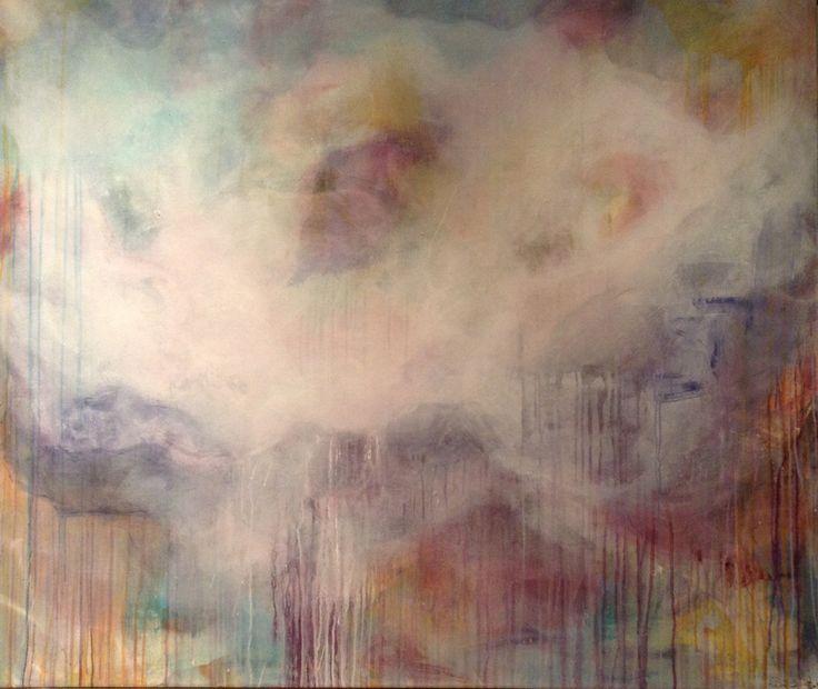 Sunset 140 x 120 Acrylic on Canvas